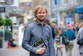 Der Bremer Stadteinzelhandel ist das Arbeitsgebiet von Digital-Lotse Malte Breford. Quelle: WFB/Pusch