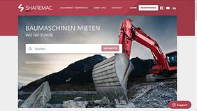 Online-Plattform Sharemac – mein Bagger ist dein Bagger!