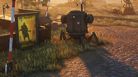 """Screenshot vom neuen Echtzeit-Strategiespiel """"Iron Harvest""""."""