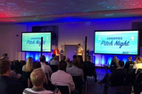 """Innovative Lösungen für die Logistik wurden bei der Logistics Pitch Night 2019 """"#StartUps meet Corporates"""" präsentiert. Foto: BLG Logistics"""