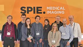 Das MEVIS Experten-Team stärkt das Profil von Deep Learning in der klinischen Routine auf der SPIE mit Vorträgen, neuen Software-Komponenten, Live-Vorführungen und zwei Kursen. Quelle: Fraunhofer MEVIS