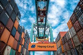 Angriffe auf die IT-Infrastruktur eines Hafens können weitreichende und kostspielige Folgen haben. SecProPort soll die Hafenlogistik schützen. Quelle: Hapag Lloyd AG