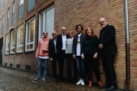 CLOSEUP HB Koordinatoren & Jury (v.l.n.r.): Fynn Kliemann (YouTuber), Thomas Schäffer (nordmedia), Helge Haas (Radio HB), Anette Unger (Produzentin), Manuel Möglich (sendefähig), Eva Koball (bremen digitalmedia), Kai Stührenberg (Referat Digitalisierung)