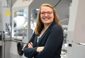 Maria Heller ist Abteilungsleiterin für Digitalisierung bei Focke & Co. in Verden. Foto: Focke