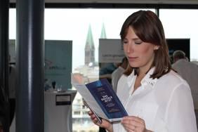 Lisa Buschan, Geschäftsstellenleitung des Mittelstand 4.0-Kompetenzzentrum Bremen