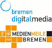 Logos bremen digitalmedia & Medienmeile