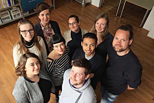 Das aktuelle Brennerei-Team. Foto: Brennerei