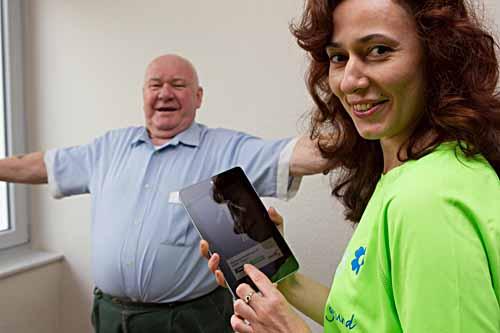 IT und Medien werden im Gesundheitswesen immer wichtiger - bei der Diagnose, im Operationssaal und bei der Rehabilitation. Foto: Universität Bremen/TZI