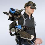 Ein Exoskelett, das am DFKI entwickelt wurde. Foto: DFKI
