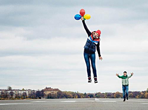 """Mit den eigenen Ideen abheben zum Erfolg können Kreativschaffende beim Wettbewerb """"Ideenlotsen - Business as unusual"""". Foto: Jonas Ginter"""