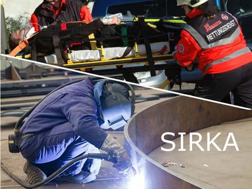 Der Sensoranzug soll vor körperlicher Überbelastung schützen. Fotos: Meyer Werft / Johanniter-Unfall-Hilfe e.V.