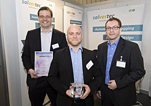Solvertec-Gründer: Daniel Große, Jan Wessels und André Sülflow (v.l.)