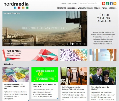 Relaunch Website www.nordmedia.de
