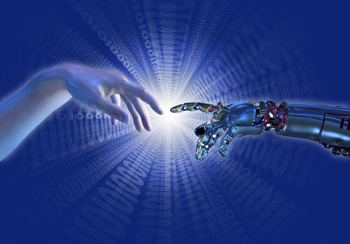 Der Roboter soll dem Menschen dienen, nicht umgekehrt, meinten die Teilnehmer der Bremer Universitätsgespräche. Abbildung: LindaMarieB/iStock