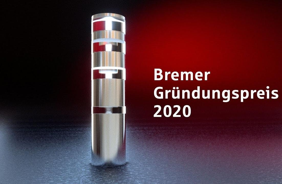 Symbolbild des Bremer Gründungspreis 2020