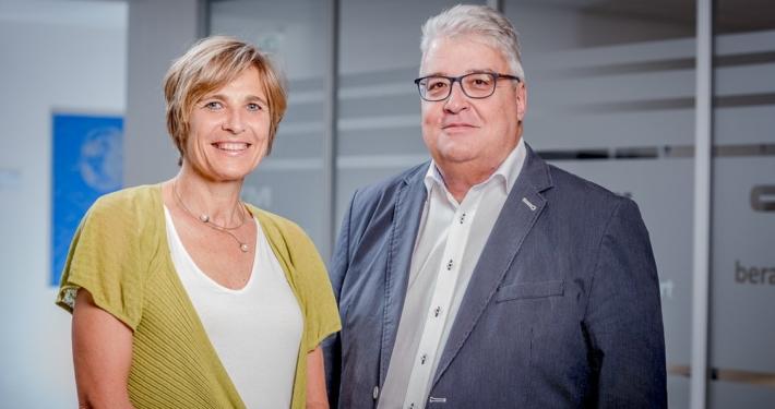 Kirsten Langhans und Helmut Elsner sind das Geschäftsführer-Team von CTM