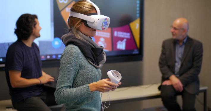 Lehre in Virtual Reality (VR) an der Uni Bremen